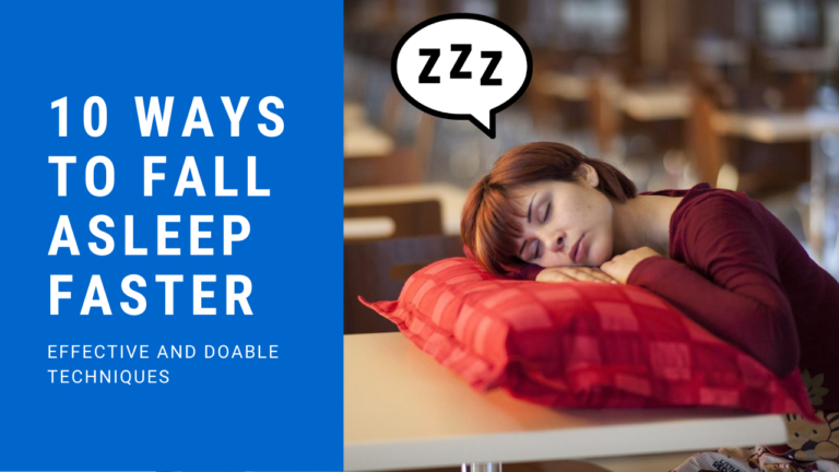 10 Ways to Fall Asleep Faster [These Really Work]