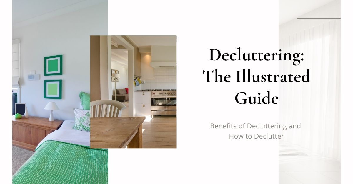 illustrated guide to decluttering