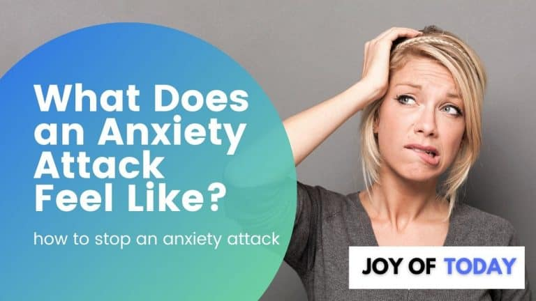 What Does an Anxiety Attack Feel Like? [how to stop an anxiety attack]