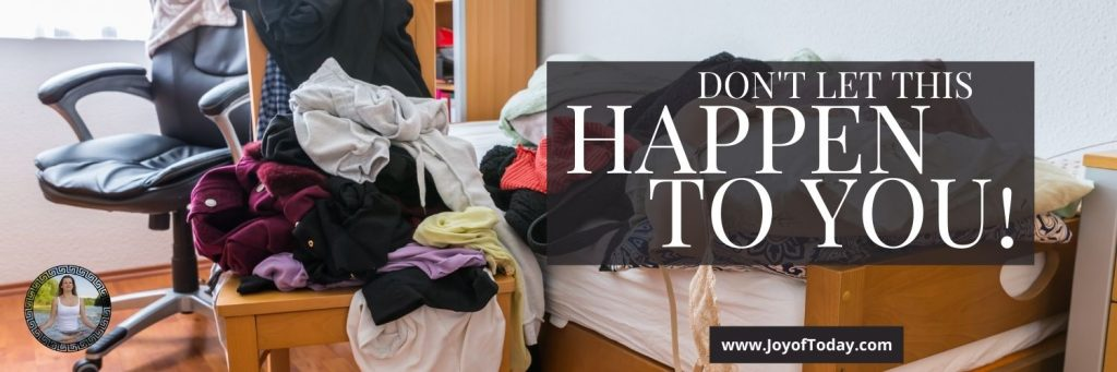 resist adding clutter back into your life as a minimalist