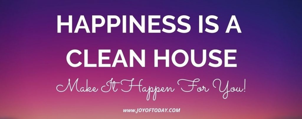 clean house decluttering quote