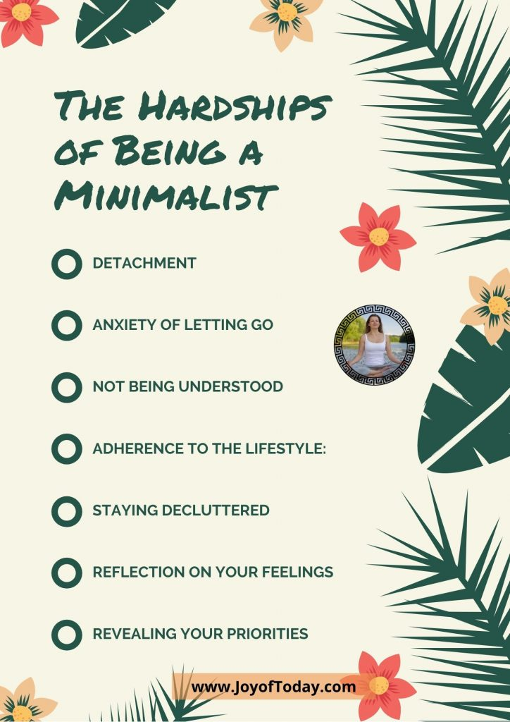 Hardships of Being a Minimalist