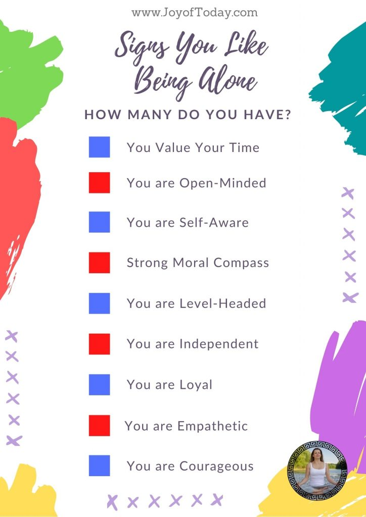 Signs You Like Being Alone