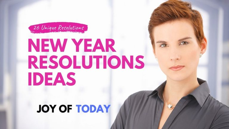 New Year Resolutions Ideas [26 Unique New Year's Resolutions]