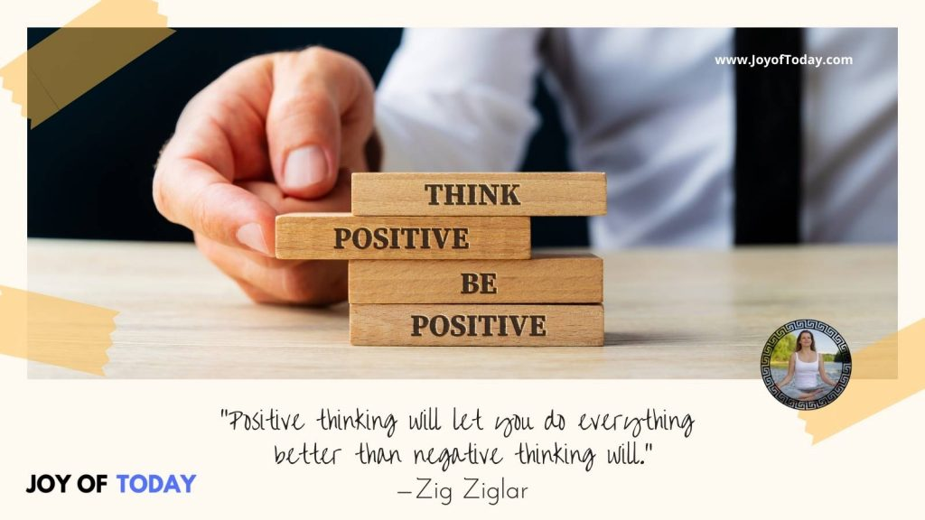 Positive Resolutions for New Year