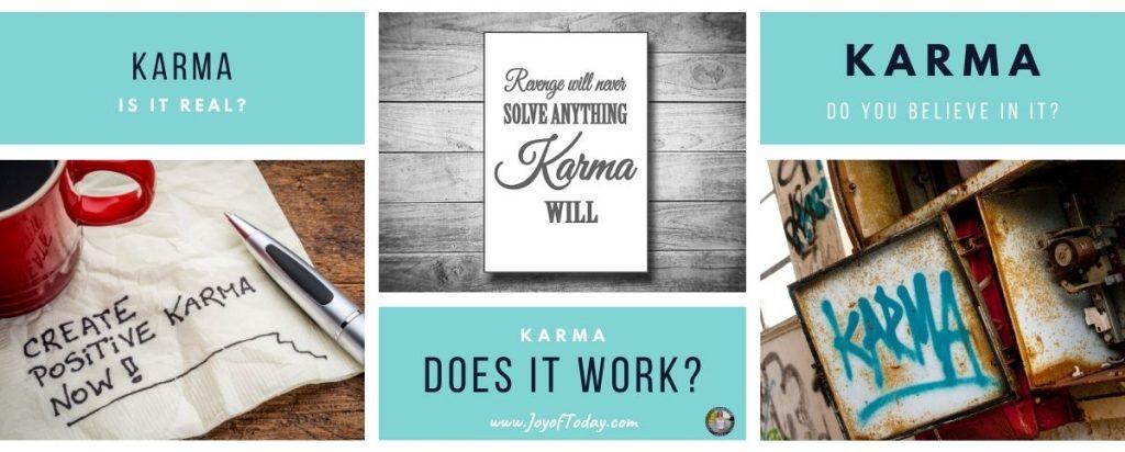 is karma real