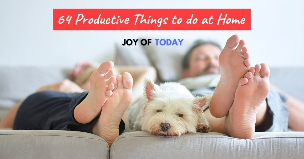 Productive Things to do at Home