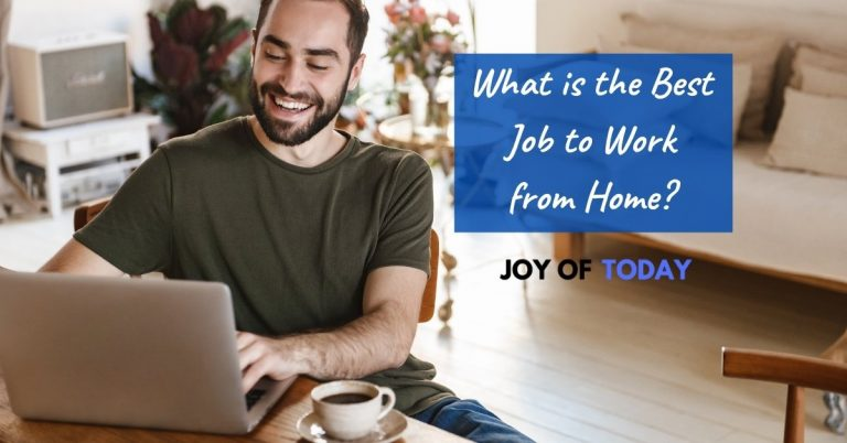 What is the Best Job to Work from Home? [best part-time jobs work from home]